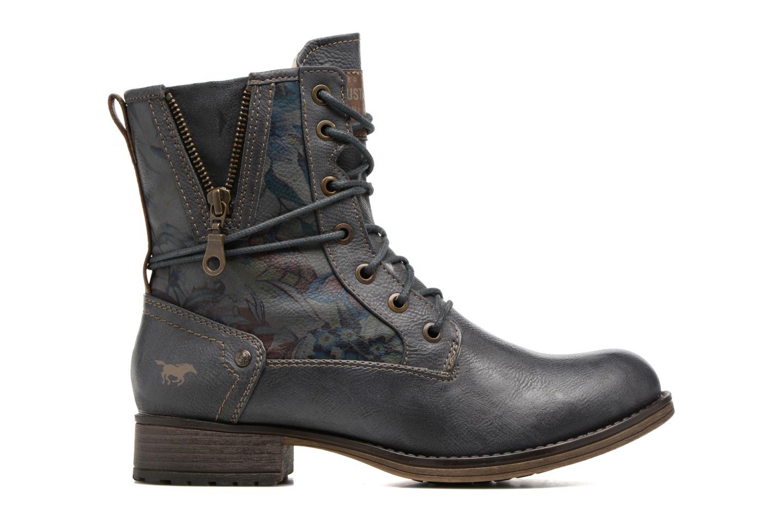 Bottines et boots Mustang shoes Manat Gris vue derrière
