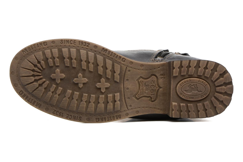 Bottines et boots Mustang shoes Manat Gris vue haut