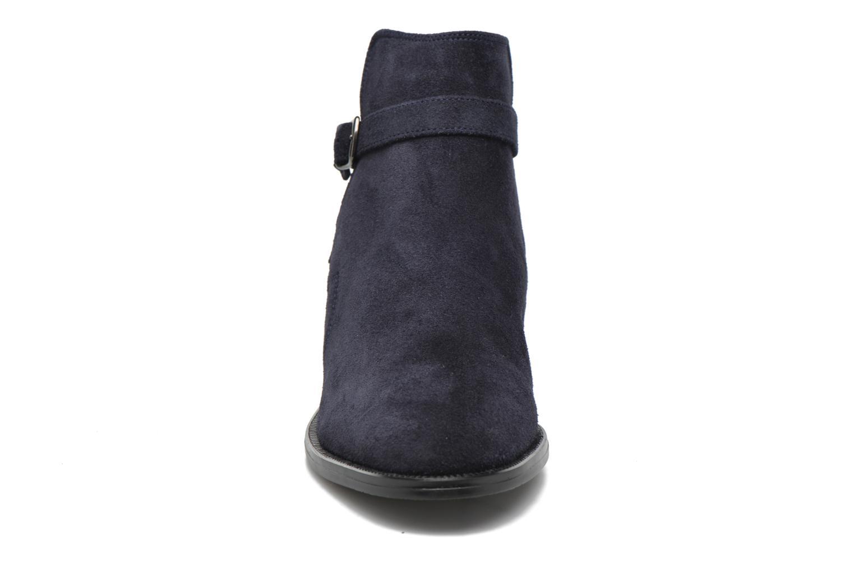 Bottines et boots André Caviar P2 Bleu vue portées chaussures