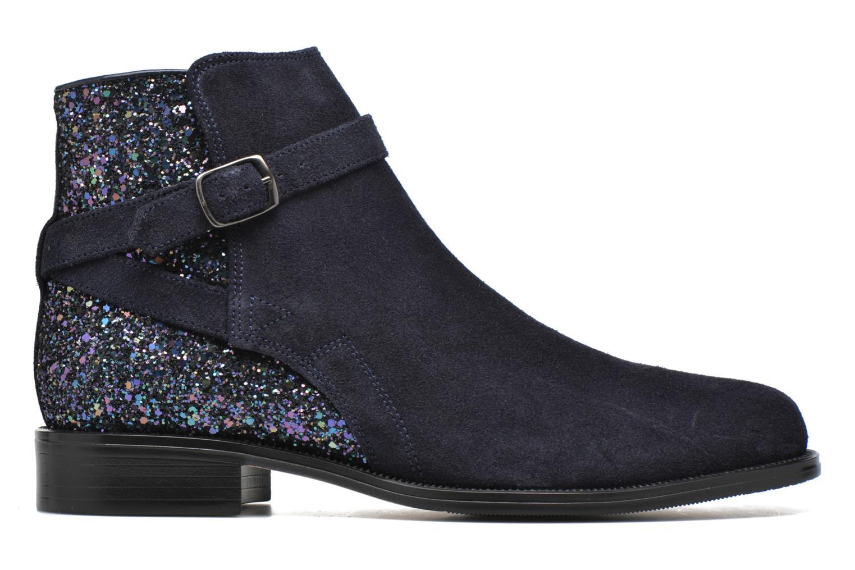 Bottines et boots André Caviar P2 Bleu vue derrière