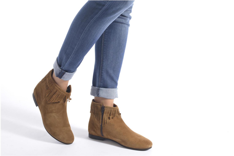 Stiefeletten & Boots André Coachella braun ansicht von unten / tasche getragen