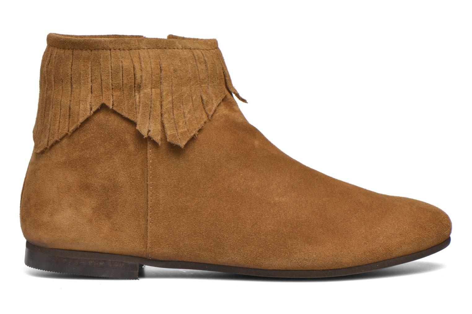 Ankle boots André Coachella Brown back view