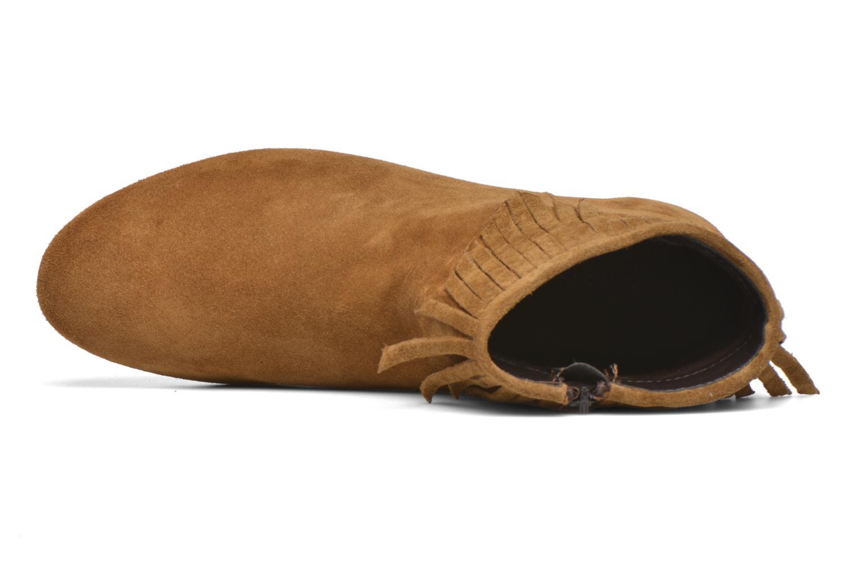 Stiefeletten & Boots André Coachella braun ansicht von links