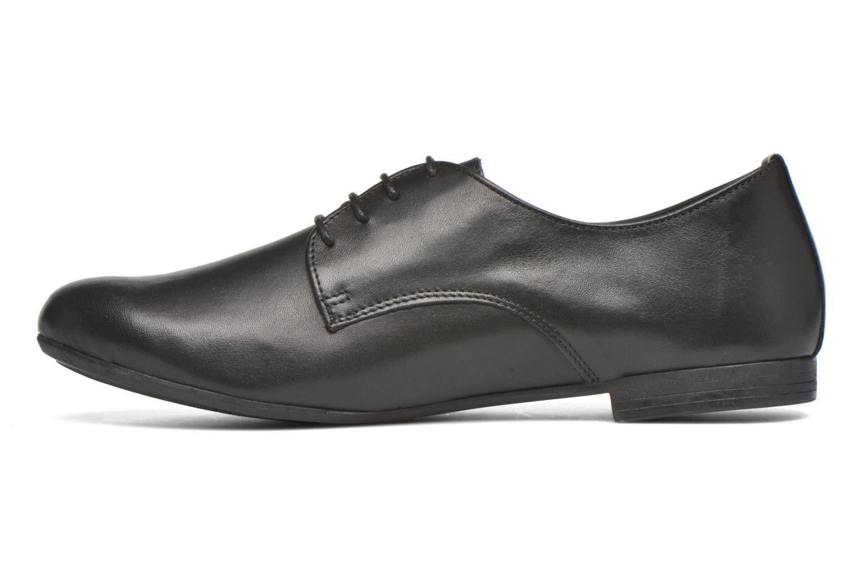 Chaussures à lacets André Complice Noir vue face