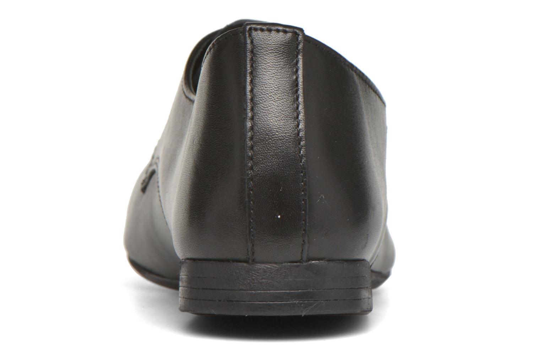 Zapatos con cordones André Complice Negro vista lateral derecha