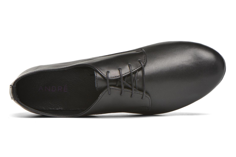 Chaussures à lacets André Complice Noir vue gauche