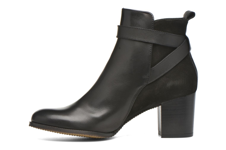 Bottines et boots André Lutine B Noir vue face