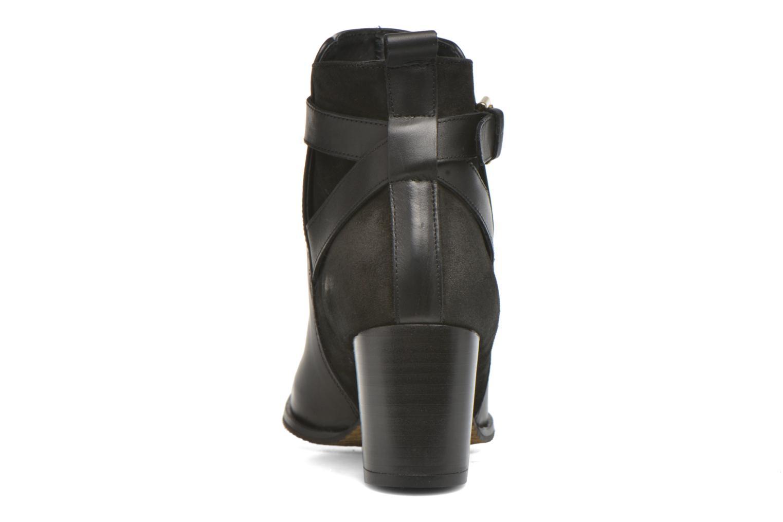 Bottines et boots André Lutine B Noir vue droite