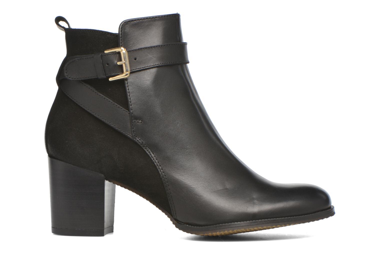 Bottines et boots André Lutine B Noir vue derrière