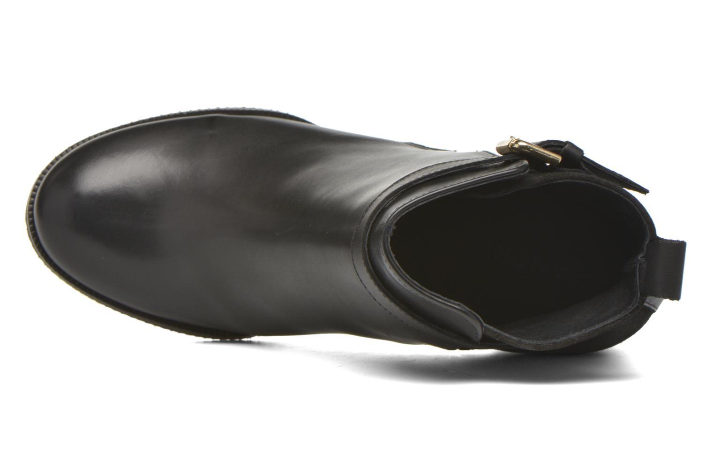 Bottines et boots André Lutine B Noir vue gauche