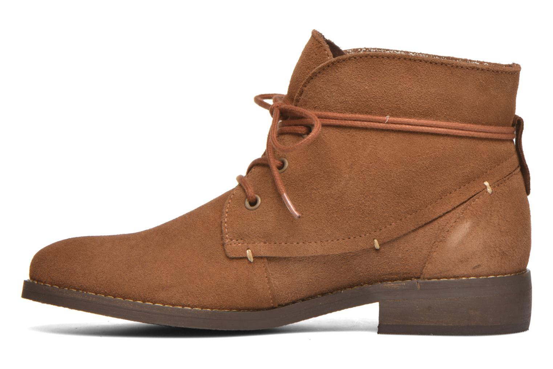 Stiefeletten & Boots André Myriam braun ansicht von vorne