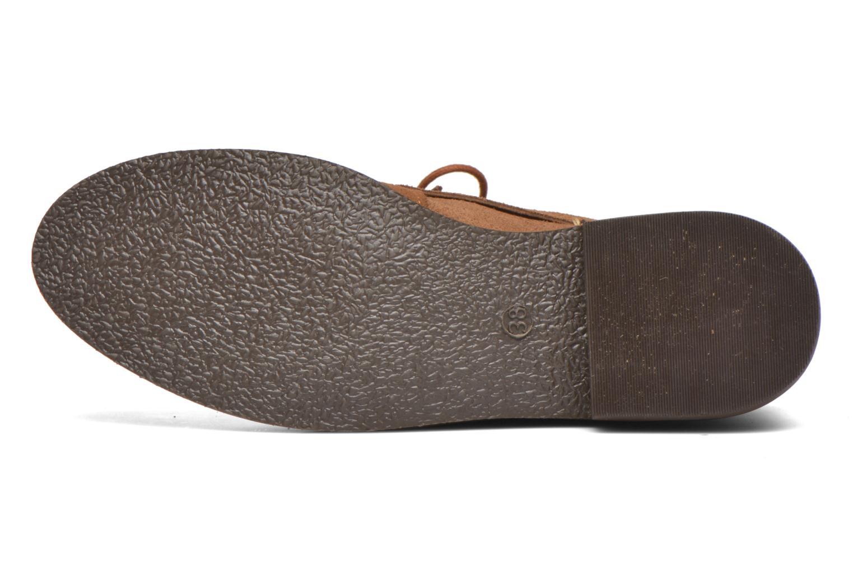 Stiefeletten & Boots André Myriam braun ansicht von oben