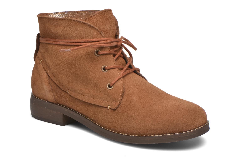 Boots en enkellaarsjes André Myriam Bruin detail