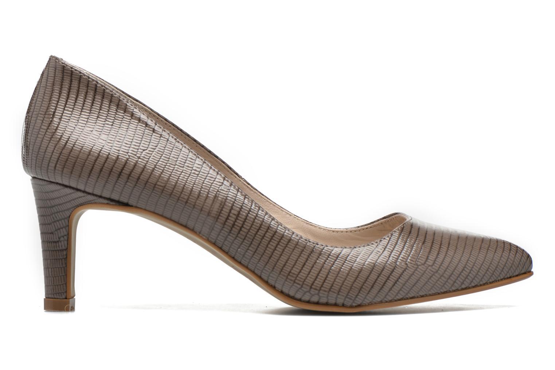 High heels André Parissa Grey back view
