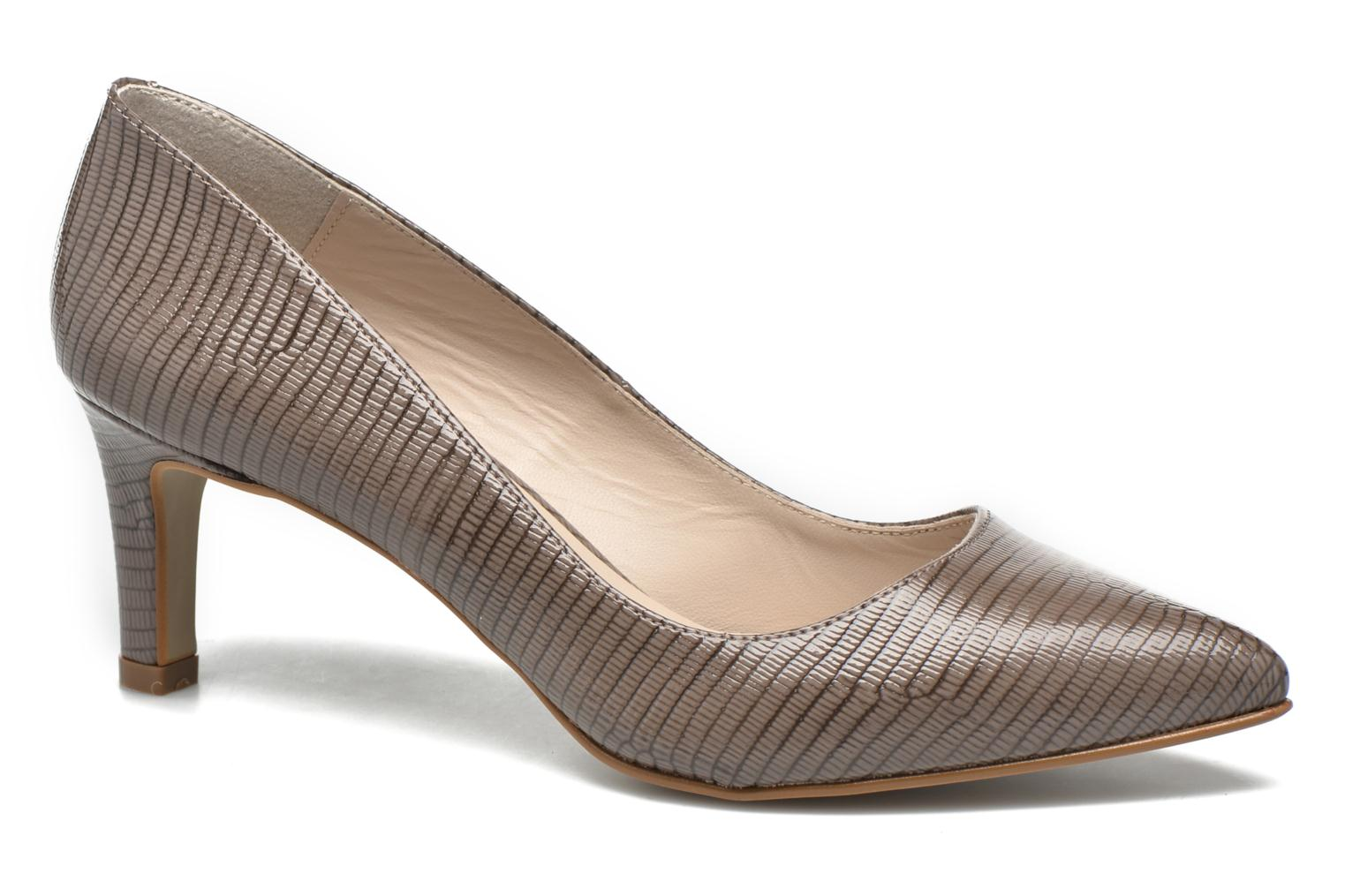High heels André Parissa Grey detailed view/ Pair view