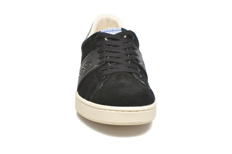 Baskets Serafini Jimmy Connors Noir vue portées chaussures