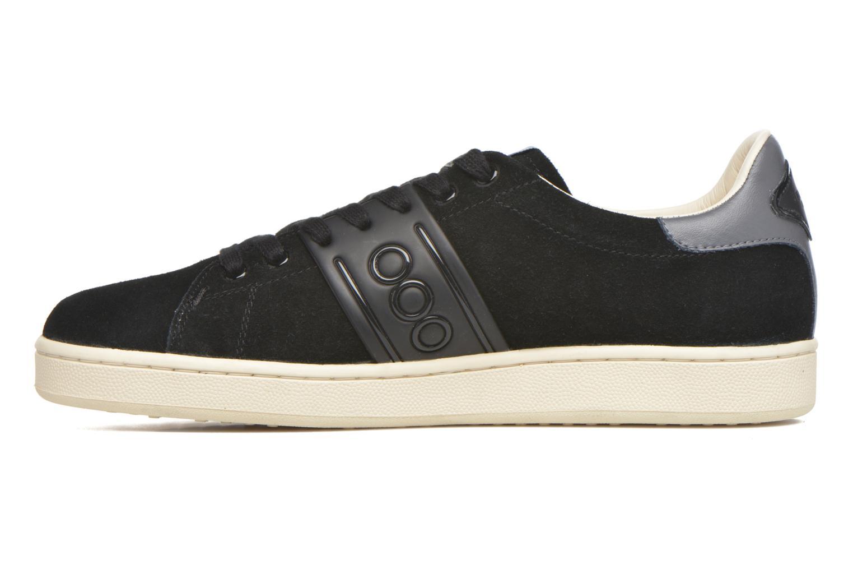 Sneaker Serafini Jimmy Connors schwarz ansicht von vorne