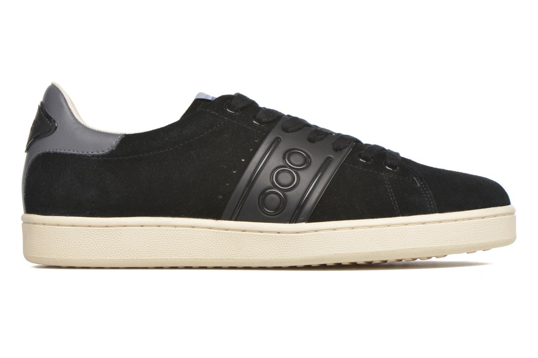 Sneaker Serafini Jimmy Connors schwarz ansicht von hinten