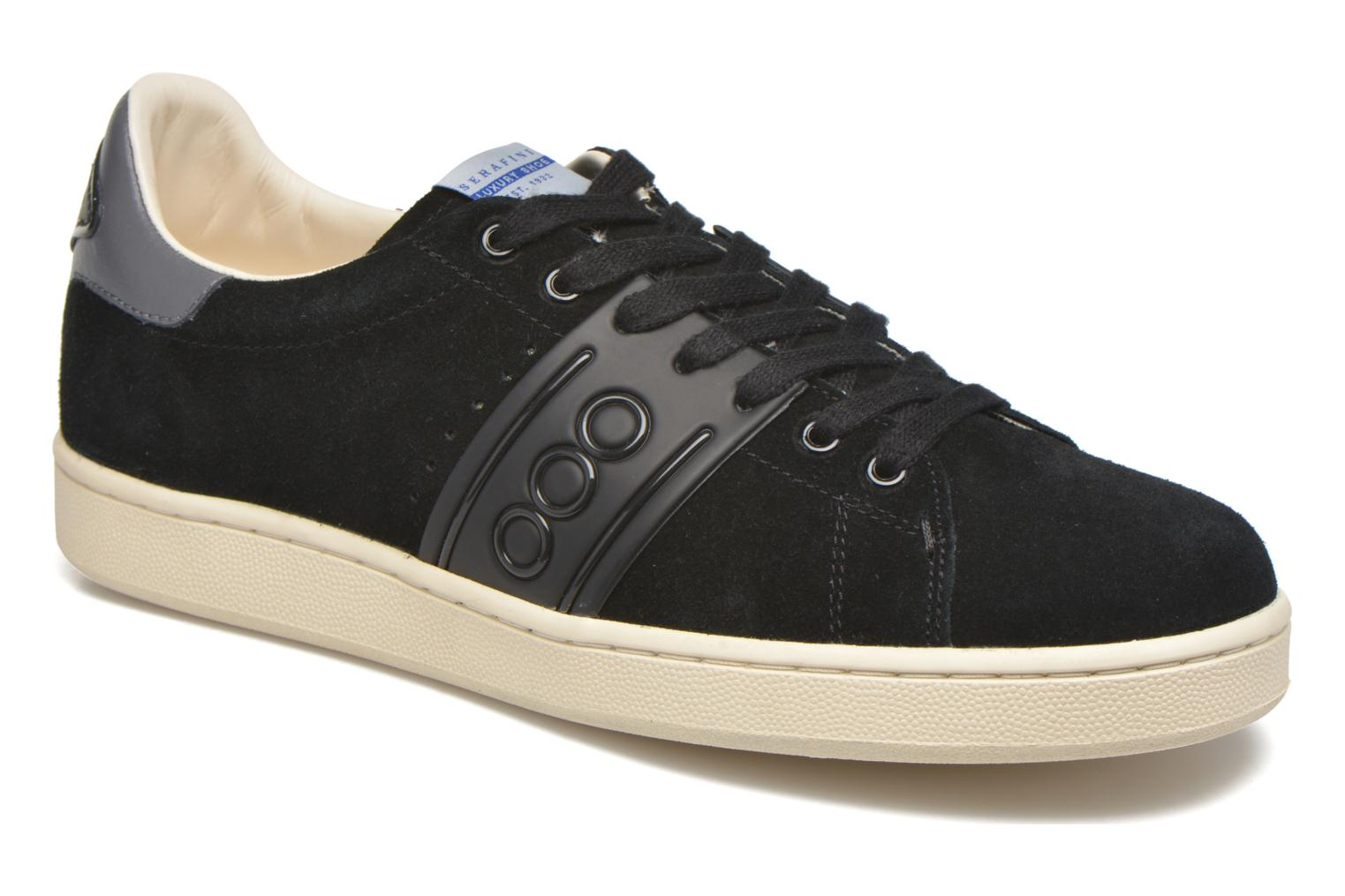 Trainers Serafini Jimmy Connors Black detailed view/ Pair view