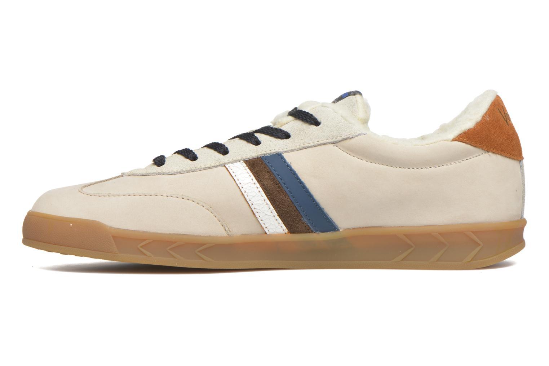 Sneakers Serafini Flat Verbier Beige voorkant