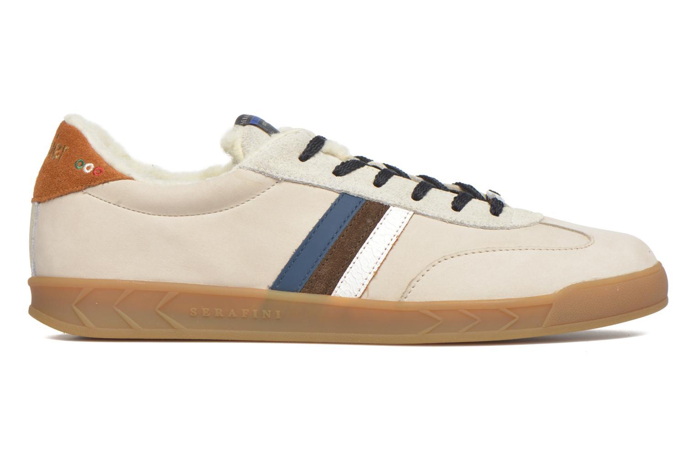 Sneakers Serafini Flat Verbier Beige immagine posteriore