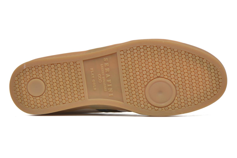 Sneaker Serafini Flat Verbier beige ansicht von oben