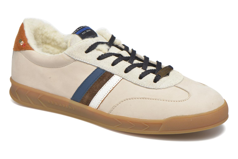 Sneakers Serafini Flat Verbier Beige detail