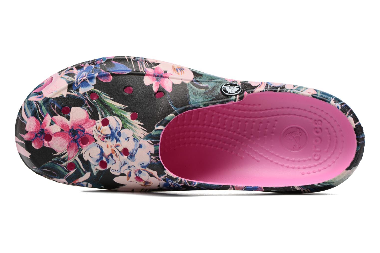 Zuecos Crocs Crocs Freesail Graphic Clog W Multicolor vista lateral izquierda