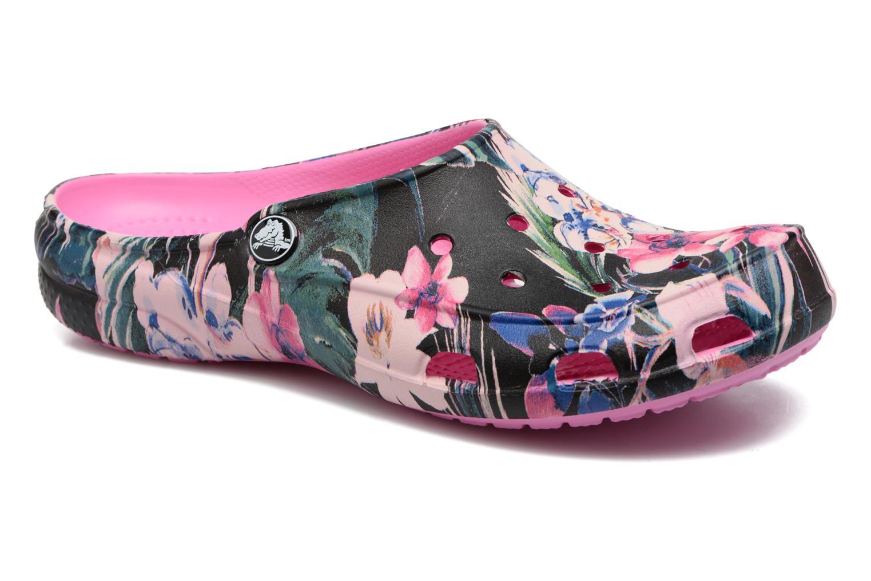 Zuecos Crocs Crocs Freesail Graphic Clog W Multicolor vista de detalle / par