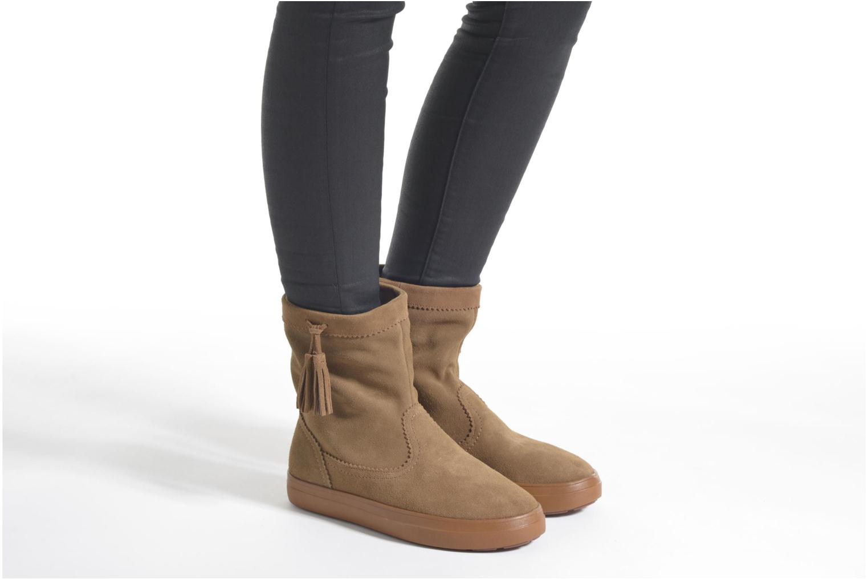Bottines et boots Crocs Lodgepoint Suede Pullon Boot W Noir vue bas / vue portée sac