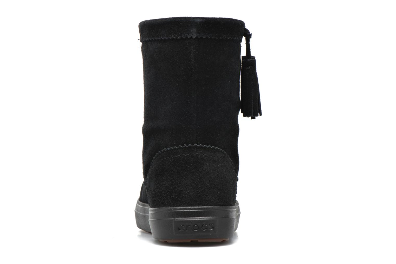 Stivaletti e tronchetti Crocs Lodgepoint Suede Pullon Boot W Nero immagine destra