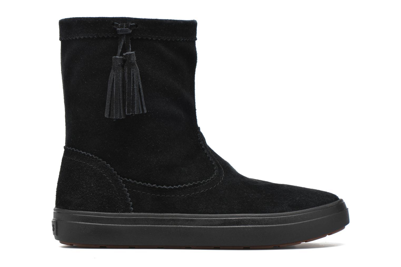 Bottines et boots Crocs Lodgepoint Suede Pullon Boot W Noir vue derrière