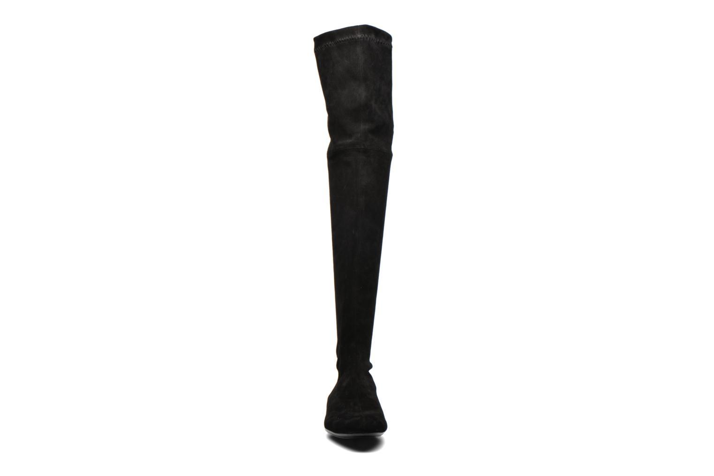 Fissal velours stretch noir