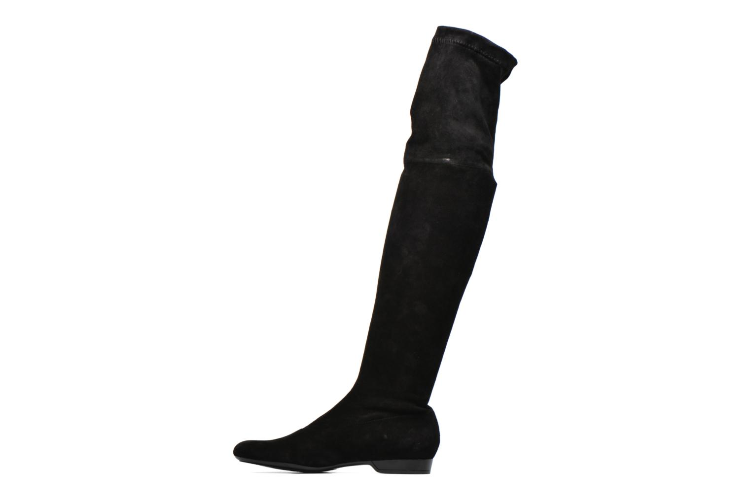 Fissal velours stretch noir