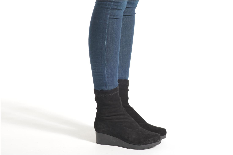 Nerdall velours stretch noir
