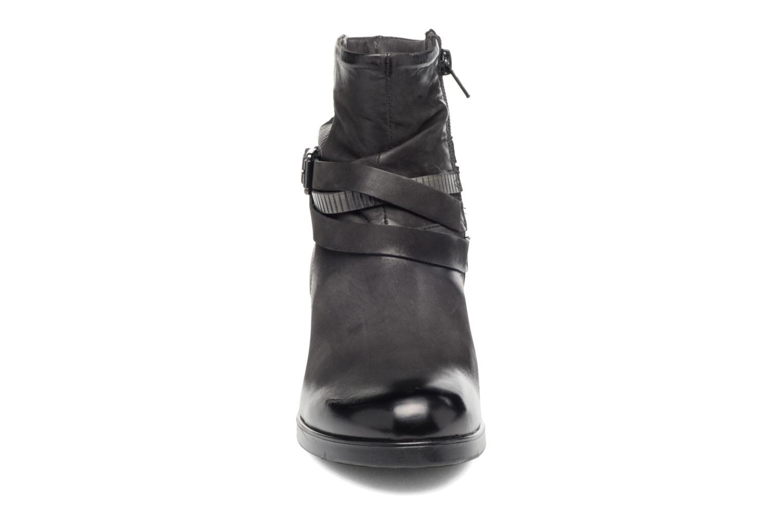 Bottines et boots Coco et abricot Brown Noir vue portées chaussures