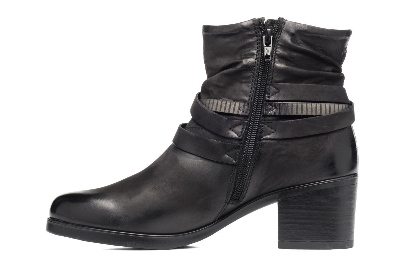 Bottines et boots Coco et abricot Brown Noir vue face