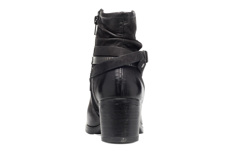 Bottines et boots Coco et abricot Brown Noir vue droite