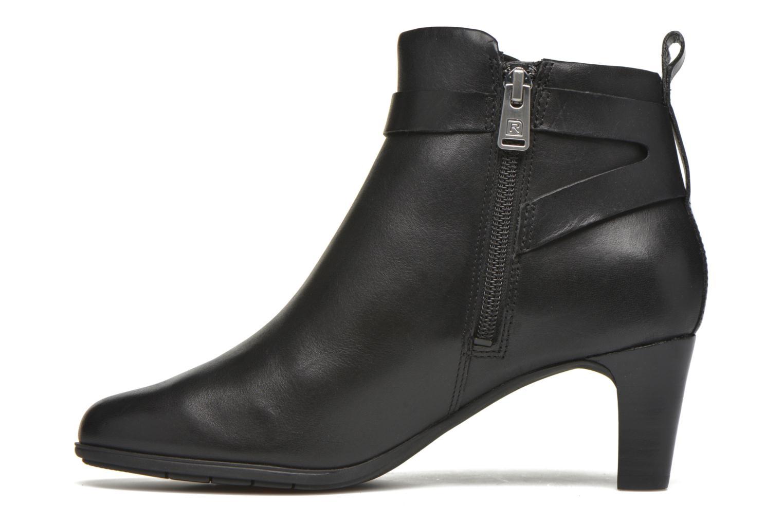 Boots en enkellaarsjes Rockport Melora Strap Bootie Zwart voorkant
