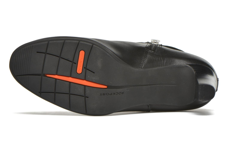 Boots en enkellaarsjes Rockport Melora Strap Bootie Zwart boven