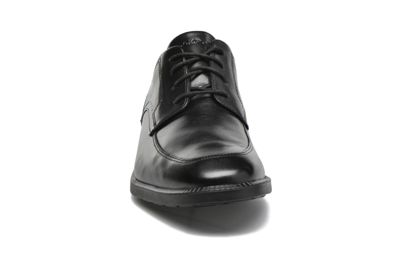 Zapatos con cordones Rockport DP Modern Apron Toe Negro vista del modelo