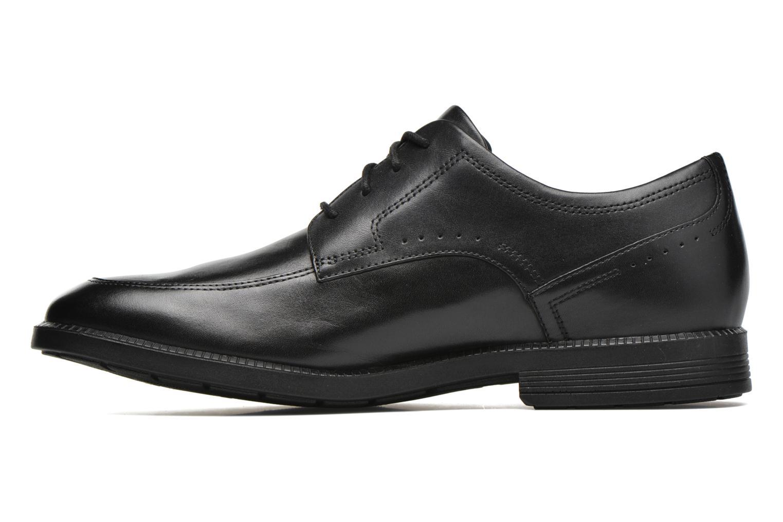 Chaussures à lacets Rockport DP Modern Apron Toe Noir vue face