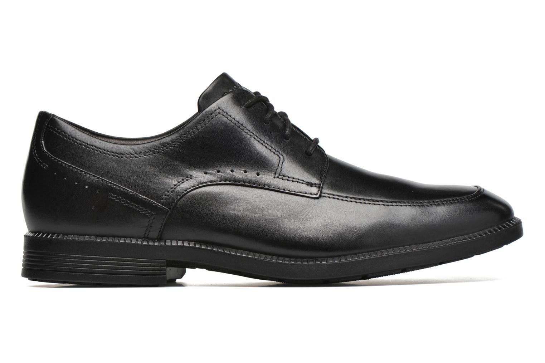 Chaussures à lacets Rockport DP Modern Apron Toe Noir vue derrière