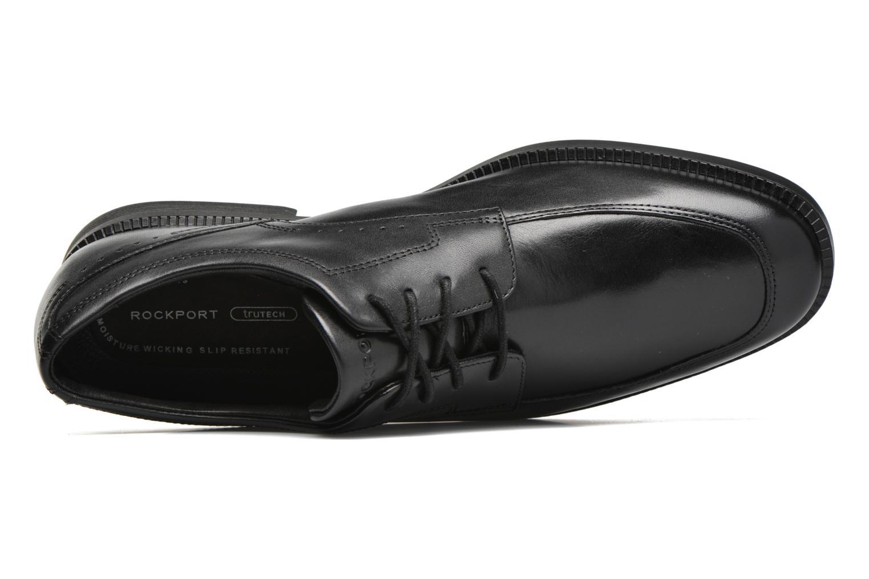 Zapatos con cordones Rockport DP Modern Apron Toe Negro vista lateral izquierda