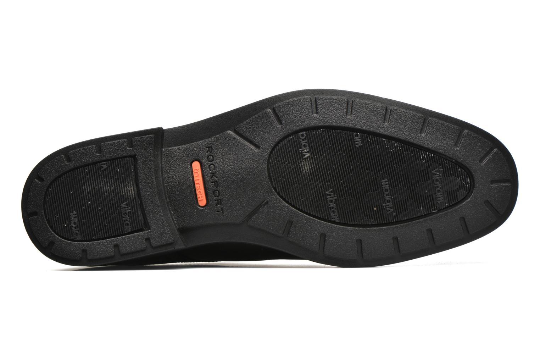 Chaussures à lacets Rockport DP Modern Apron Toe Noir vue haut