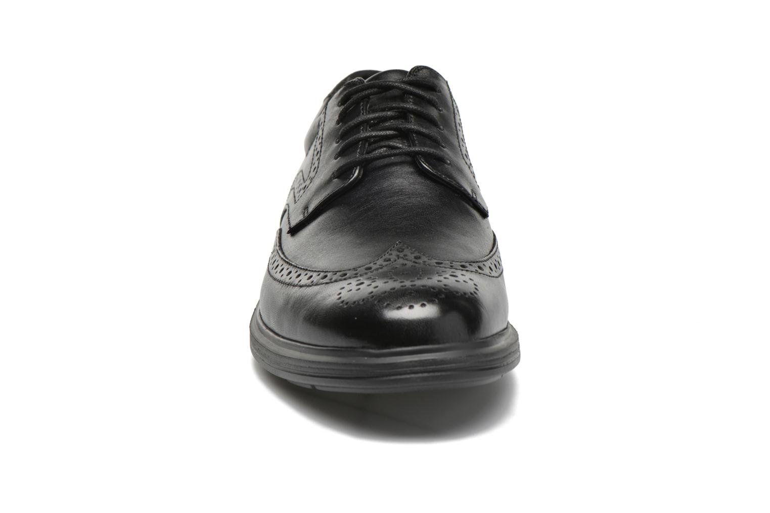 Zapatos con cordones Rockport DP2 Light Wing Tip Negro vista del modelo