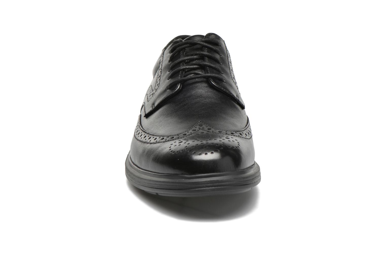 Schnürschuhe Rockport DP2 Light Wing Tip schwarz schuhe getragen