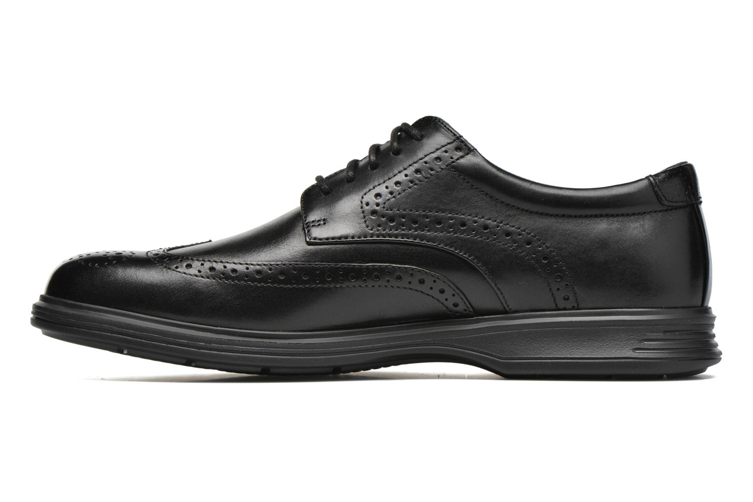 Lace-up shoes Rockport DP2 Light Wing Tip Black front view