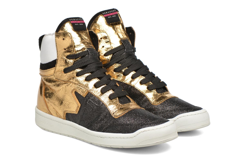 Sneaker Serafini San Diego II schwarz 3 von 4 ansichten
