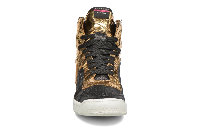 Sneaker Serafini San Diego II schwarz schuhe getragen
